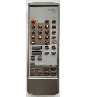 Denon Compact Disc Player Remote Control