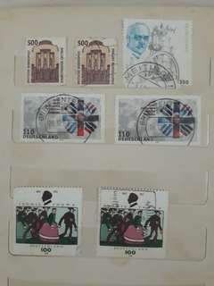 Stamps from Deutschland