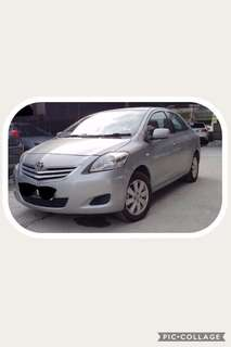 Toyota Vios for Rental