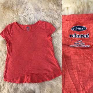 Old navy tee/ top/ shirt for girls (kids)