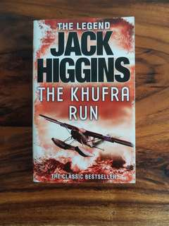 The Khufra Run ~Jack Higgins Fiction Storybook