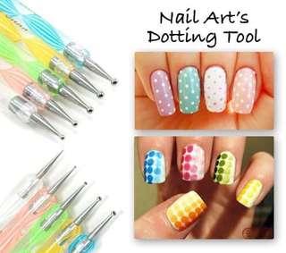 Dotting nail art's