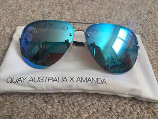 MUSE Quay x Amanda Steele - BLUE/SILVER