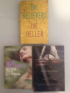 Zoë Heller books