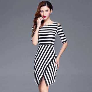RTC Stripe dress