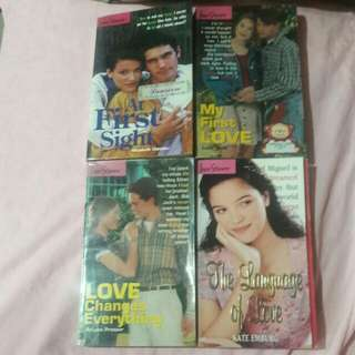 Love Stories Bundle of 4 Books ❤