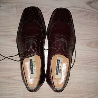 Florsheim Imperial brown genuine leather shoes