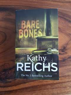Bare Bones ~ Kathy Reichs Fiction Storybook