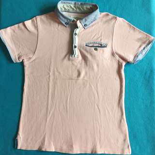 Gingersnaps Pink Blush Polo Shirt