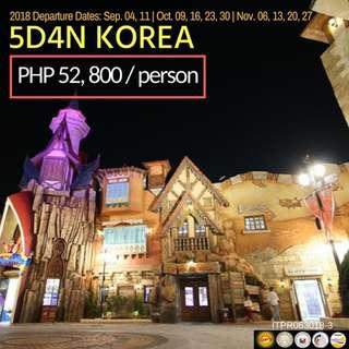 5D4N KOREA TOUR PACKAGE
