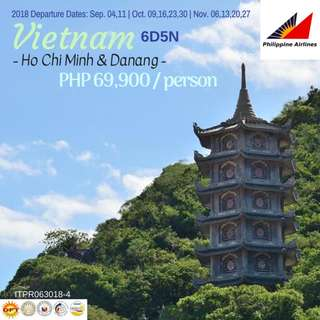 6D5N Vietnam (Ho Chi Minh and Danang)