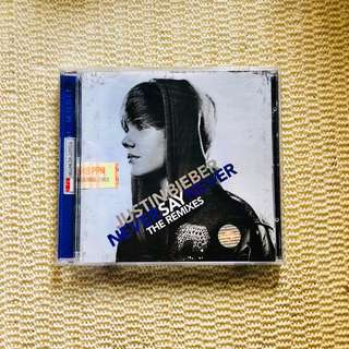 Never Say Never Album - Justin Bieber