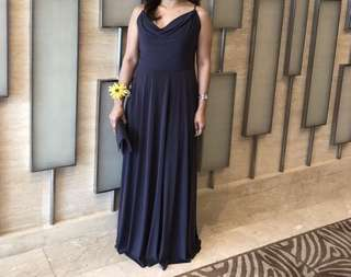 Charcoal Gray Gown