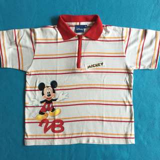 Disney Mickey Mouse Polo Shirt