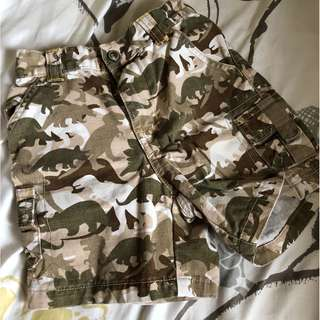 Gymboree Camo Cargo Shorts