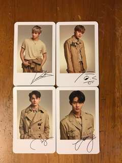 Wanna one Polaroid card(wannaone)