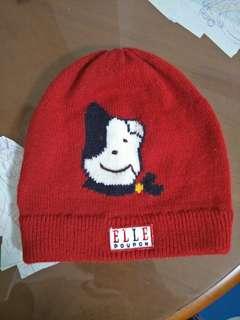 🚚 ELLE 童帽 帽子 保暖帽 毛線帽