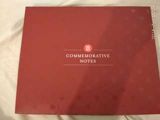 🚚 NAME YOUR PRICE, REASONABLE OFFER SECURES! SG50 COMMEMORATIVE NOTES BOX SET!