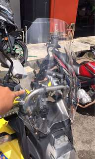 versys 650/ 1000 windshield