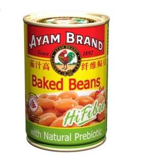 茄汁高纖維焗豆 Baked Beans Hi Fibre