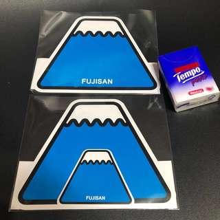 富士山明信片 FUJISAN postcard