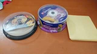 Verbatim 25 + TDK 4 DVD-R. (Total 29 pcs) 連碟套