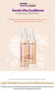 Keratin hair spray