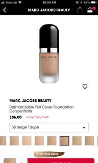Marc Jacob's Foundation Beige Taupe