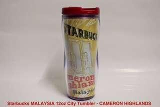 Starbucks MALAYSIA 12oz City Tumbler - CAMERON HIGHLANDS