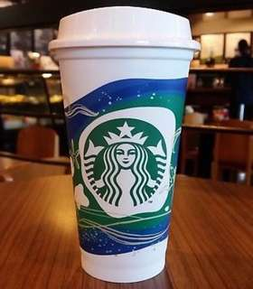 Starbucks MALAYSIA Exclusive Reusable Cup 16oz - EcoKnights 2018 Edition