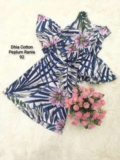 Peplum Rania Cotton