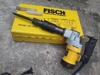 Mesin Bobok FISCH  Demolition Hammer 8100