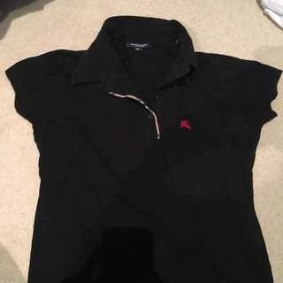 Burberry tshirt polo