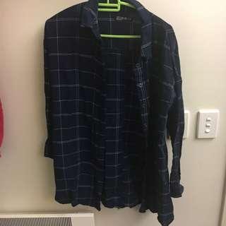 Checkered Long Outerwear