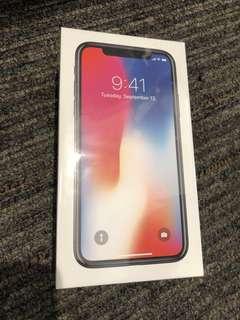 🚚 i Phone X 256G 太空灰 銀色 各一台