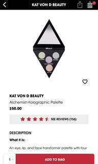Kat Von D Holographic Highlighting Palette