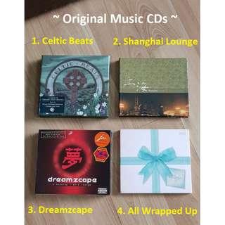 Various Original Music CDs