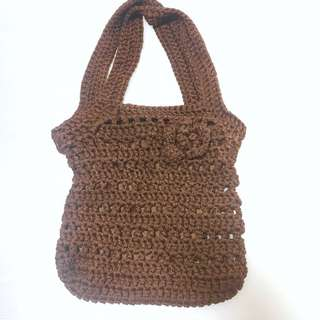 Knitted Bag handmade