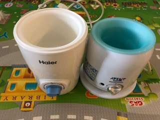 Avent & Haier Milk Warmer