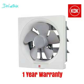 KDK 10'' 25AQM Wall-type Exhaust Ventilation Fan
