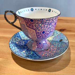Fine bone china cup & saucer from T2 - never used!