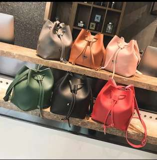 [SALE] Fashion Marble Bucket Sling Bag