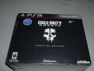 BNIB sealed PS3 Call of Duty Ghost - Prestige Edition (including a 1080p HD Tactical Camera) - can upgrade to PS4 version @$10
