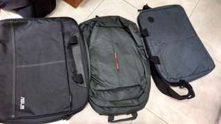 Laptop bags. HP, ASUS, Lenovo