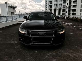 Rent lease Audi A4 Ryde / Grab premium