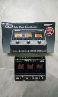 Zoom G3 Multi Guitar effects