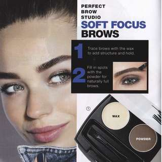 [AVON] Mark. Perfect Eyebrow Styling Duo 2.3g