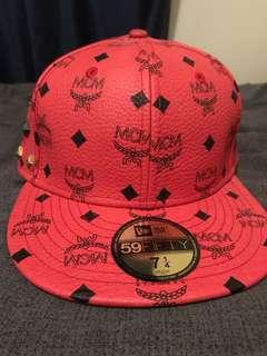 MCM monogram fitted cap
