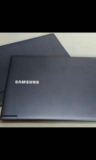 Samsung laptop i7 256SSD warranty til sep 19