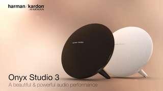 HARMAN KARDON ONYX Studio 3 可攜式藍牙喇叭,原裝行貨1年保用